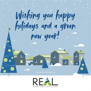From everyone at REAL we wish to you a peaceful Christmas and a very successful New Year!